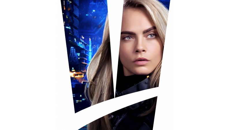 Valerian and the City of a Thousand Planets, 8k, Cara Delevingne (horizontal)