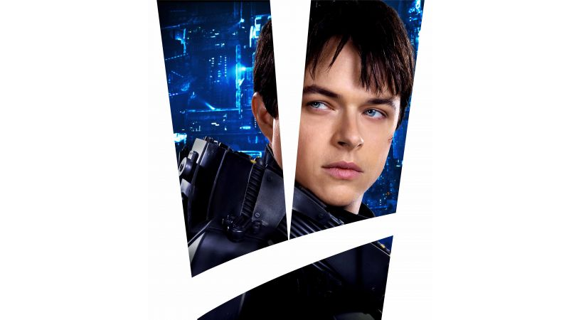 Valerian and the City of a Thousand Planets, 8k, Dane DeHaan (horizontal)