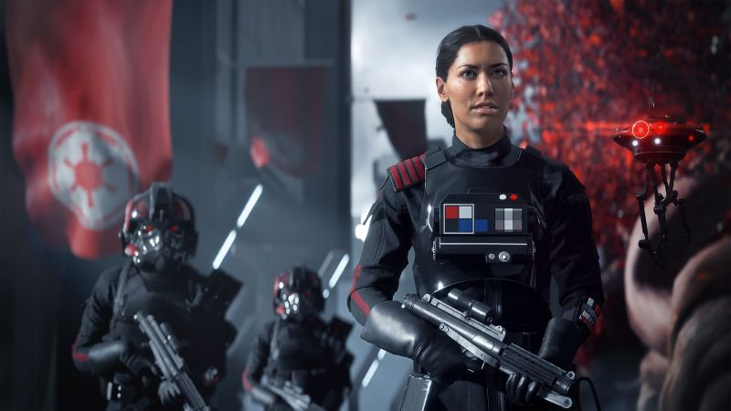 Star Wars: Battlefront II, 4k, E3 2017, screenshot (horizontal)