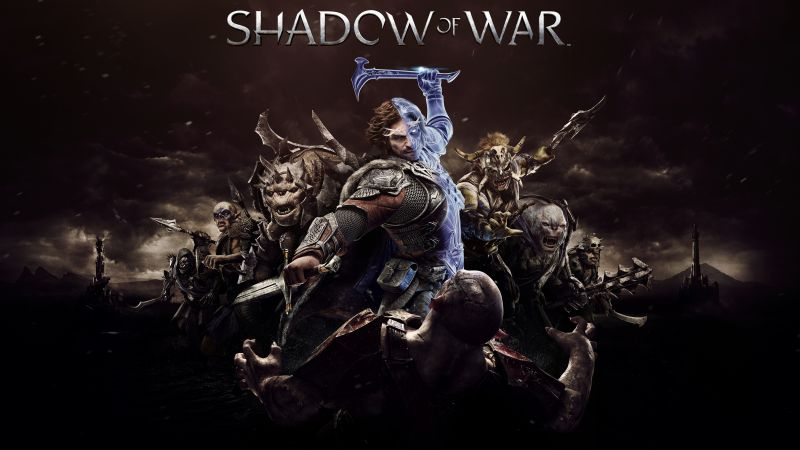 Middle-earth: Shadow of War, 4k, E3 2017, poster (horizontal)
