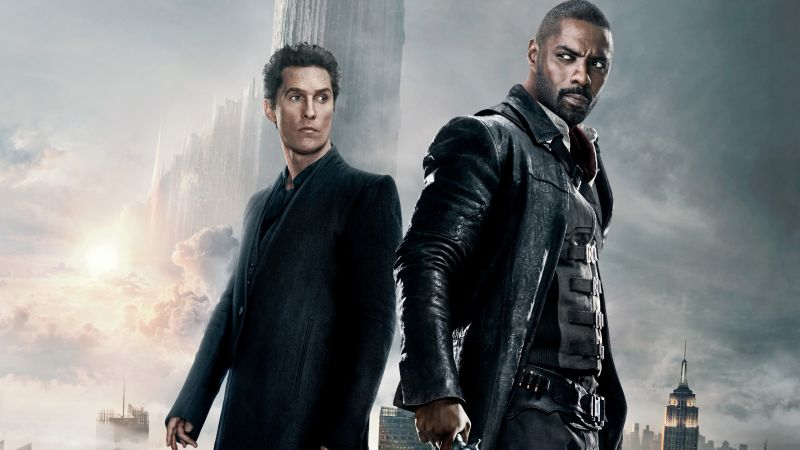 The Dark Tower, Matthew McConaughey, Idris Elba, 5k (horizontal)