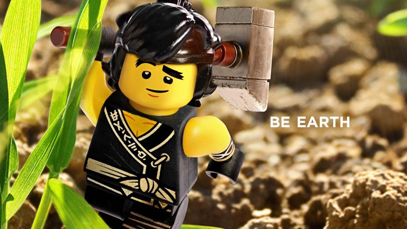 LEGO Ninjago, Be Earth, 4k (horizontal)