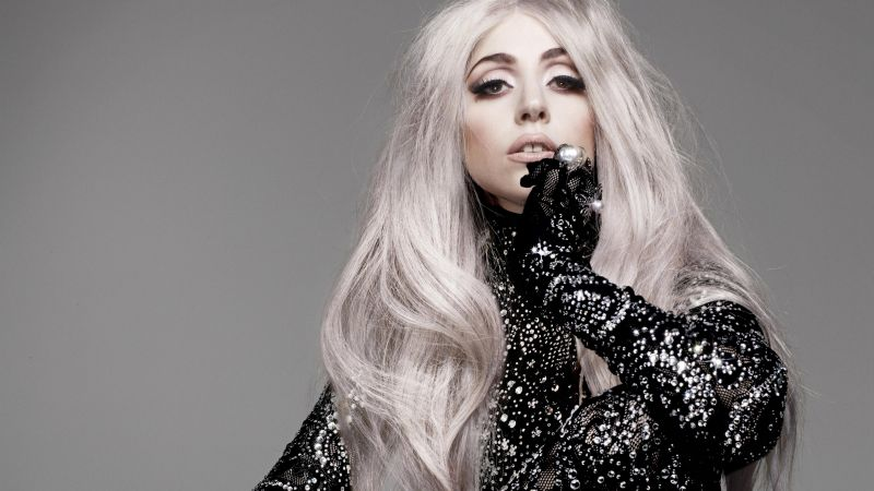 Lady GaGa, photo, 4k (horizontal)