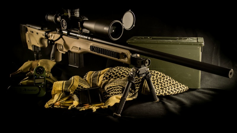 AE MKIII, L96A1, Tross, Accuracy International, .308, Win, Dark Earth, rifle, sniper, scope, ammunition