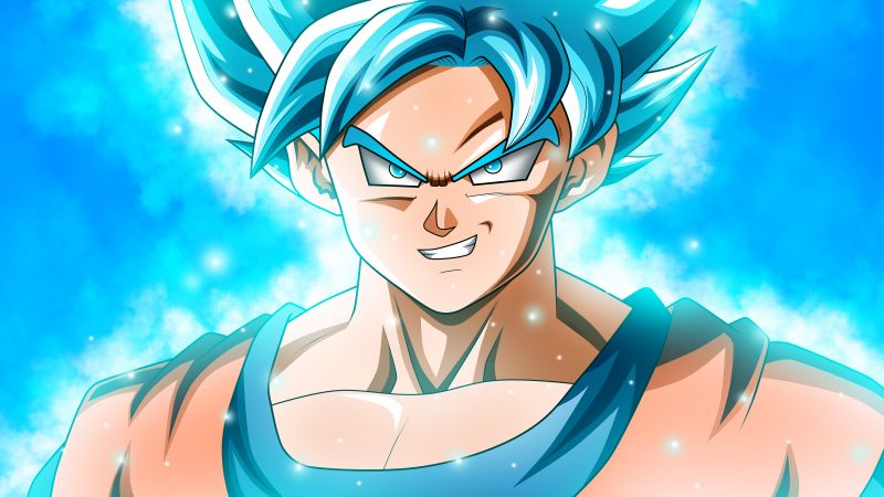 anime, Dragon Ball Super, Goku, 8k (horizontal)