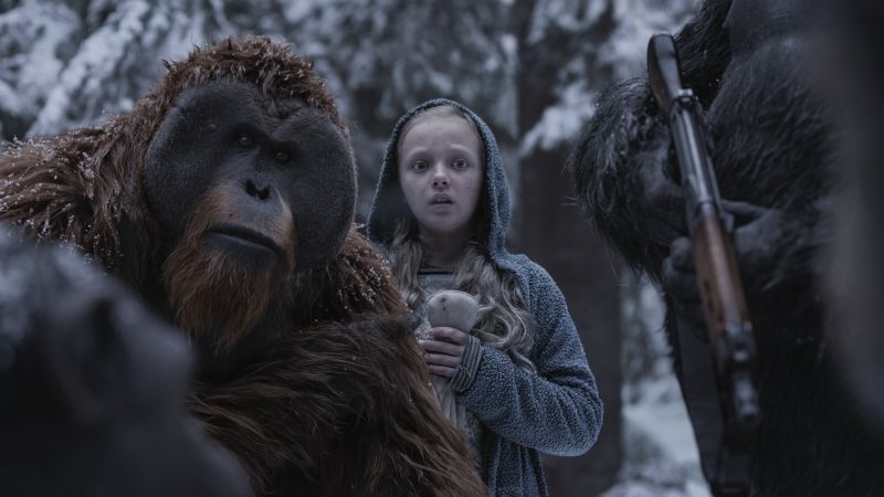 War for the Planet of the Apes, Amiah Miller, 5k (horizontal)