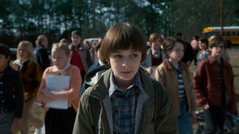 Stranger Things, season 2, TV Series, Noah Schnapp, 8k (horizontal)