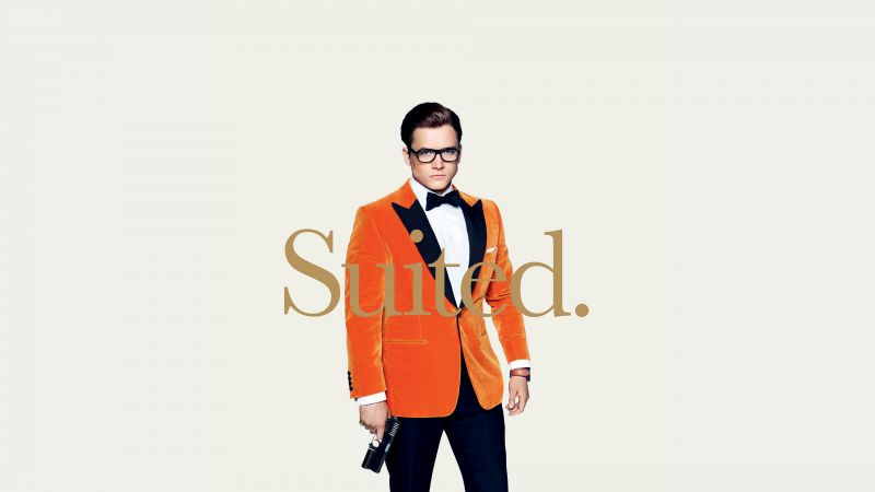 Kingsman: The Golden Circle, Taron Egerton, 4k (horizontal)