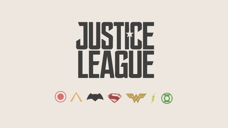 Justice League, poster, 8k (horizontal)