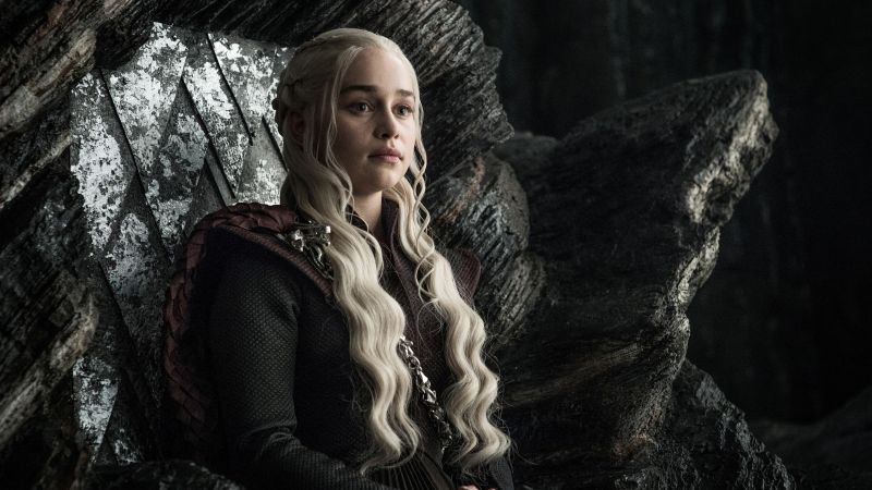 Game of Thrones, Daenerys Targaryen, Emilia Clarke, TV Series, 4k (horizontal)