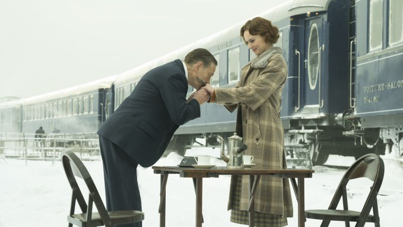 Murder on the Orient Express, Kenneth Branagh, Daisy Ridley, 5k (horizontal)