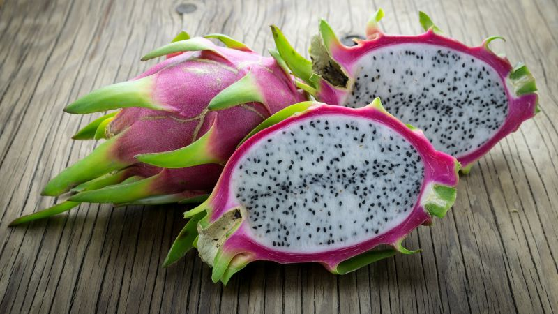 dragon fruit, pitaya, 5k (horizontal)