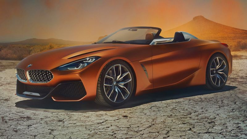 BMW Z4, Roadster, Cars 2018, 5k (horizontal)