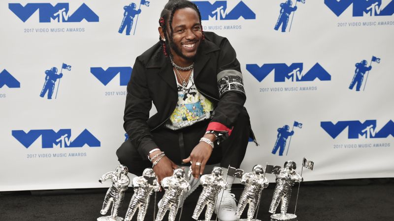 MTV Video Music Awards 2017, Kendrick Lamar, 4k (horizontal)
