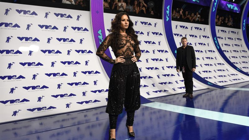 MTV Video Music Awards 2017, Demi Lovato, 4k (horizontal)