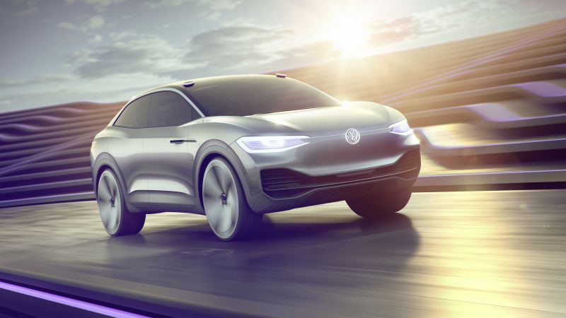 Volkswagen I.D. CROZZ ll, electric car, 4k (horizontal)