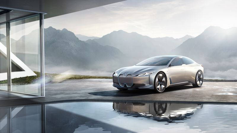 BMW i Vision Dynamics, electric car, 4k (horizontal)