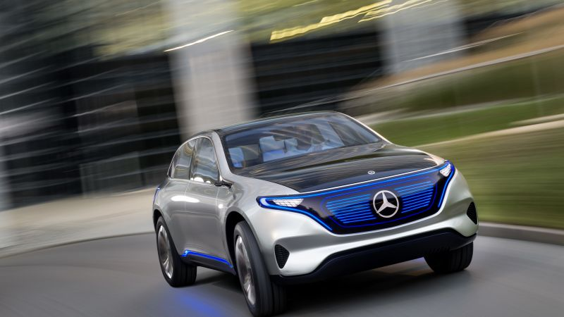 Mercedes-Benz Concept EQ, electric car, 8k (horizontal)