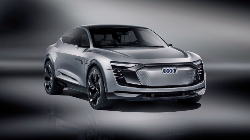 Audi Elaine, electric car, 4k (horizontal)