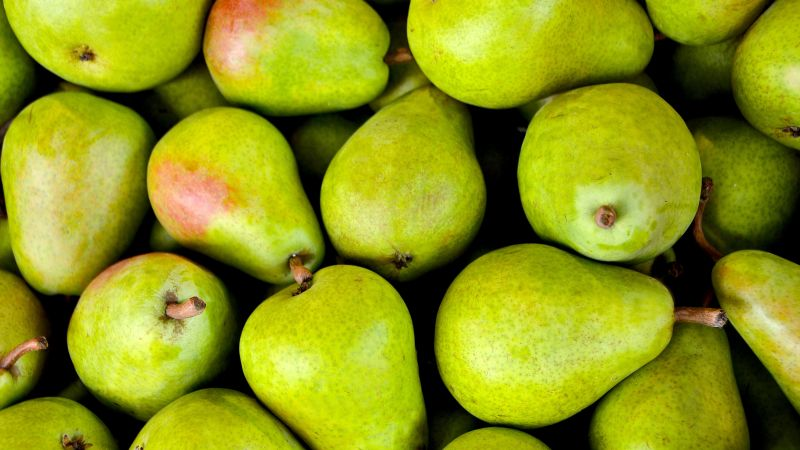 pear, fruit, green, 5k (horizontal)