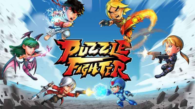 Puzzle Fighter, poster, 5k (horizontal)