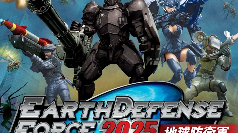 Earth Defense Force 2025, Tokyo Game Show 2017, poster, 4k (horizontal)