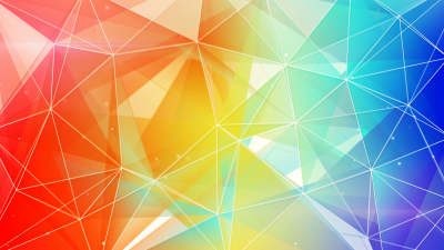 triangle, abstract, colorful, 4k (horizontal)