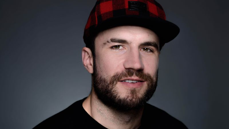 Sam Hunt, portrait, 8k (horizontal)