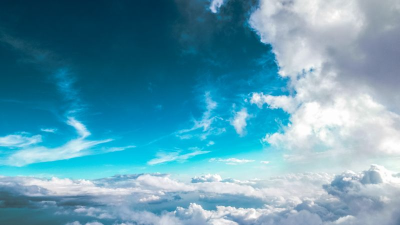 clouds, sky, 5k (horizontal)