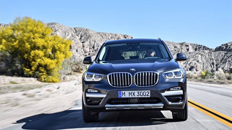 BMW X3, 2018 Cars, 4k (horizontal)