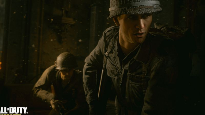 Call of Duty: WW2, screenshot, E3 2017, 4k (horizontal)