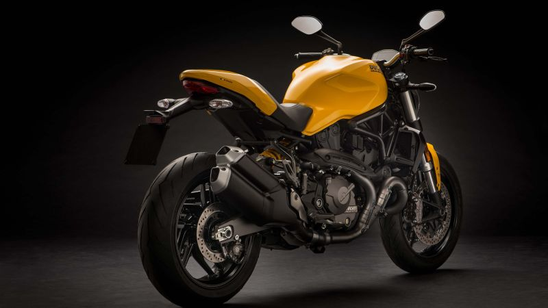 Ducati Monster 821, 2018 Bikes, 4k (horizontal)