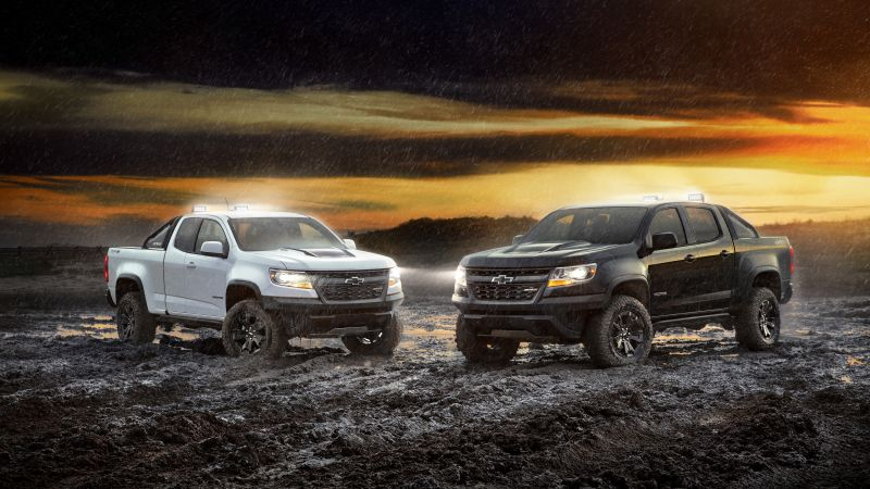 Chevrolet Colorado ZR2, 2018 Cars, 4k (horizontal)