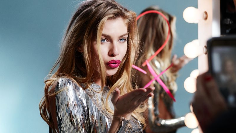 Stella Maxwell, hot, Victoria's Secret Angel, 4k (horizontal)