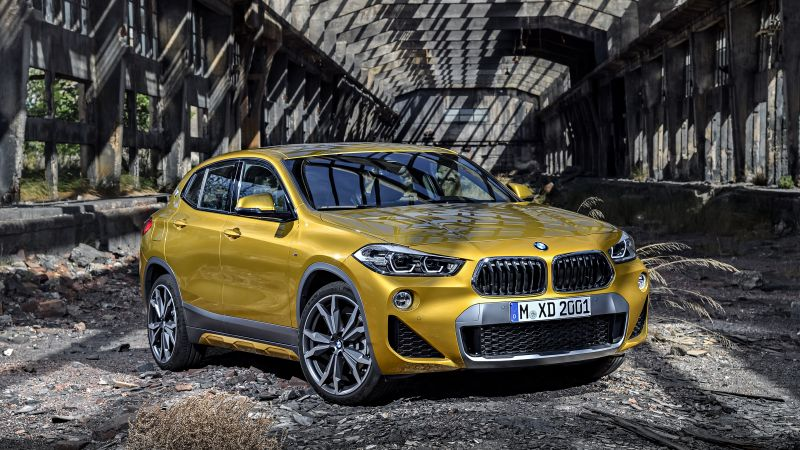 BMW X2, 2018 Cars, 4k (horizontal)
