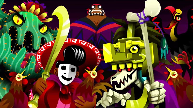 Guacamelee 2, screenshot, Paris Game Week, 4k (horizontal)