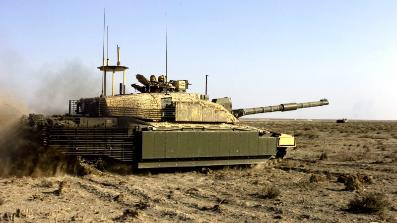 Challenger 2, FV4034, MBT, tank, British Army, United Kingdom, armoured, desert