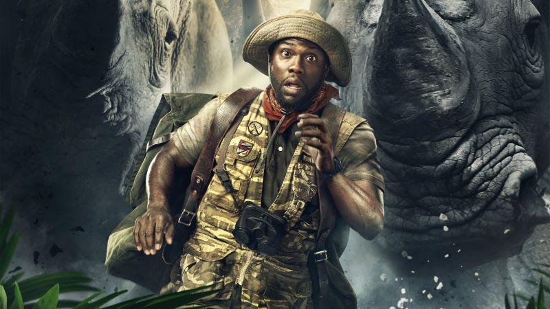 Jumanji: Welcome to the Jungle, Kevin Hart, 5k (horizontal)