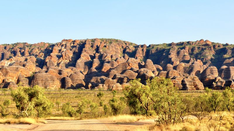 Purnululu, National Park, mountain, 4k (horizontal)