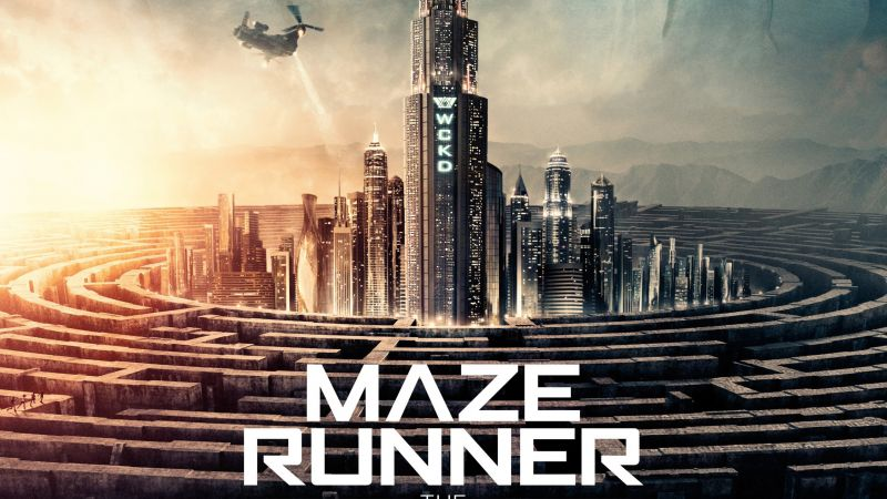 Maze Runner: The Death Cure, 4k (horizontal)