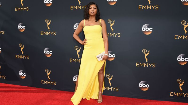 Taraji P. Henson, dress, 4k (horizontal)