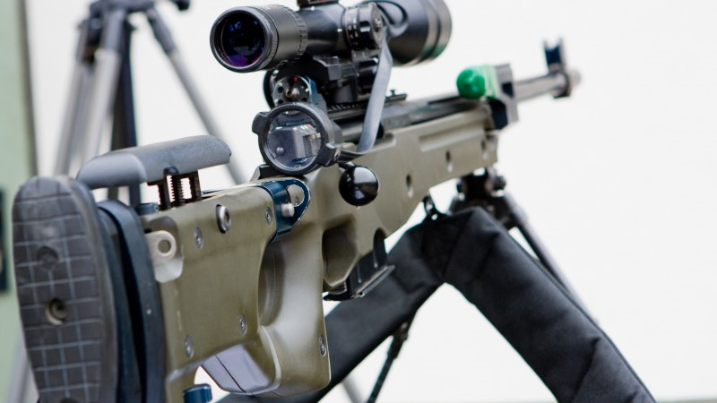 Accuracy International, Arctic Warfare, L118A1, SR-98, sniper rifle, scope, .308, 7.62x51mm NATO (horizontal)
