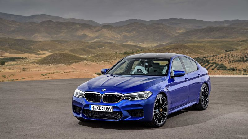 BMW M5, Cars 2018, 5k (horizontal)