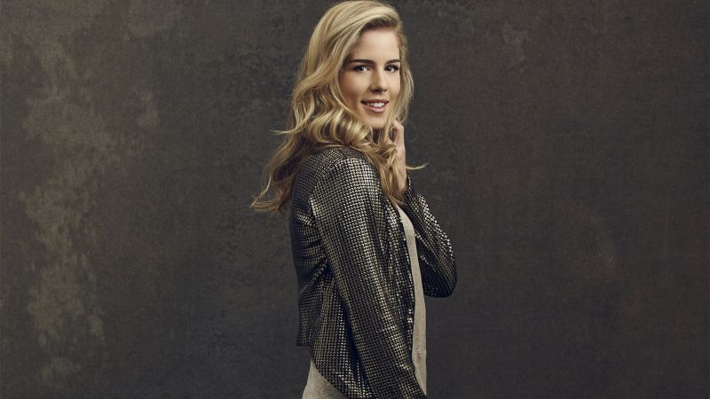 Emily Bett Rickards, photo, 4k (horizontal)