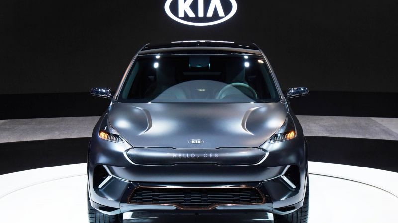Kia Niro EV, CES 2018, electric car, 4k (horizontal)