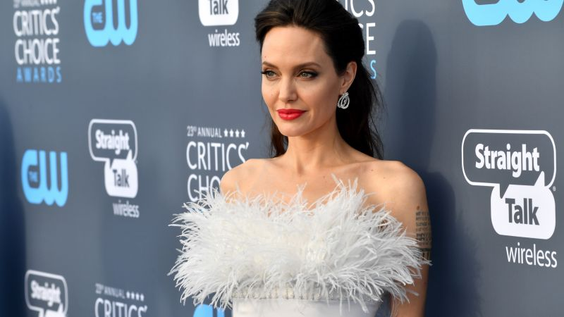 Angelina Jolie, photo, Critics' Choice Awards 2018, 5k (horizontal)