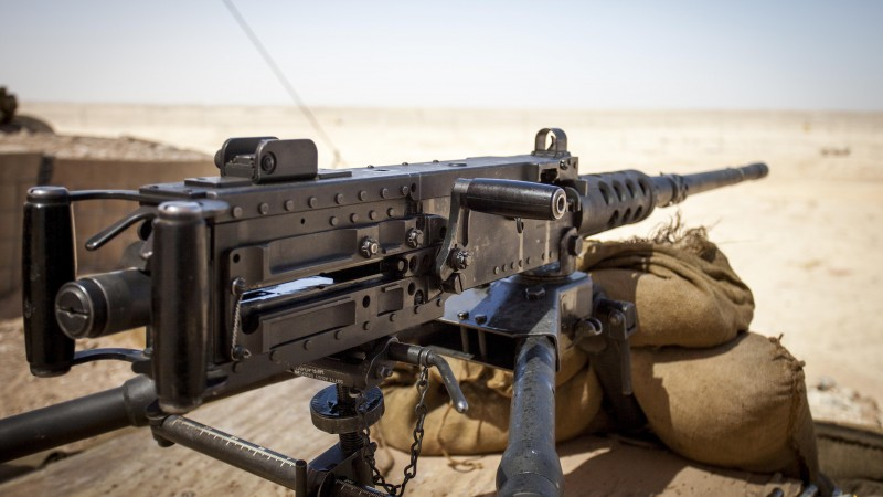 M2, Browning, .50, machine gun, M2HB, M2A1, ammunition, bullets (horizontal)