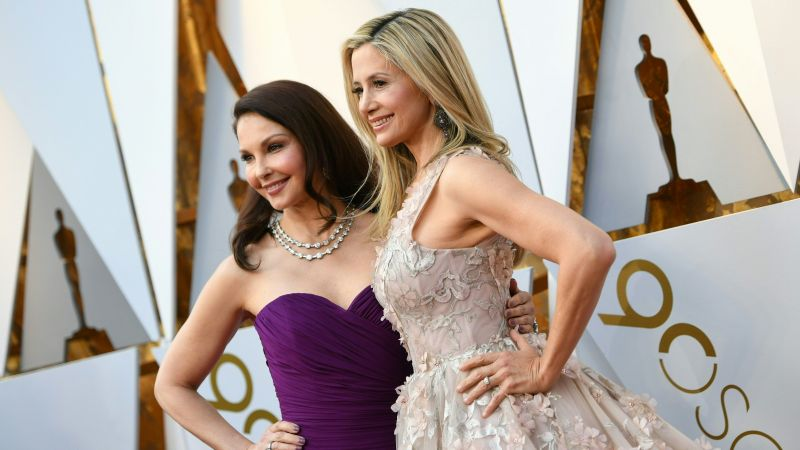 Ashley Judd, Mira Sorvino, Oscar 2018, 4k (horizontal)