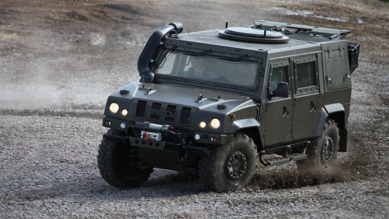 Iveco LMV, Lynx, VTLM Lince, vehicle, Russia, Russian Armed Forces (horizontal)