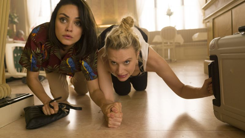 The Spy Who Dumped Me, Mila Kunis, Kate McKinnon, 4k (horizontal)